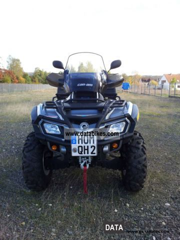 2010 Can Am  outlander max limited Motorcycle Quad photo