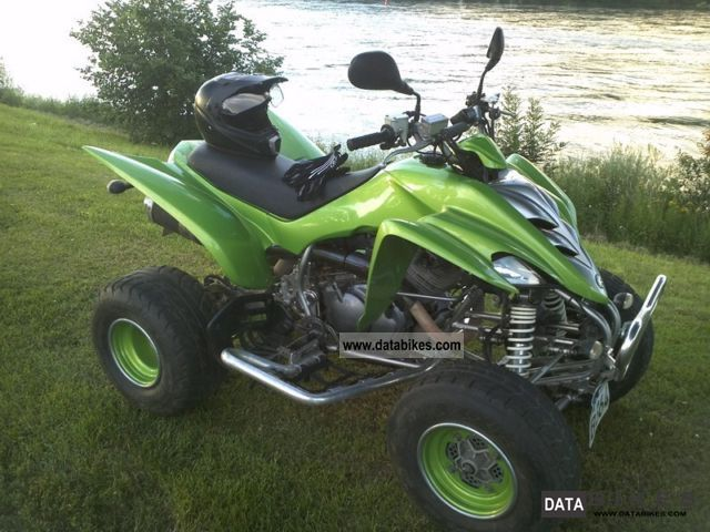 2008 Yamaha  Raptor 350R Motorcycle Quad photo