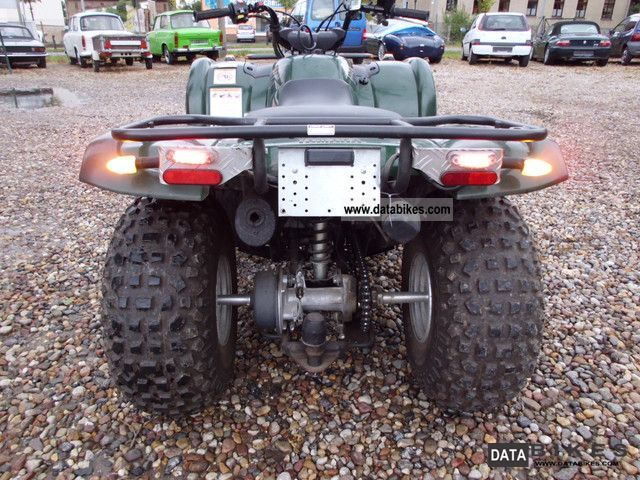 2007 Yamaha YFM 125 Grizzly automatic with towbar