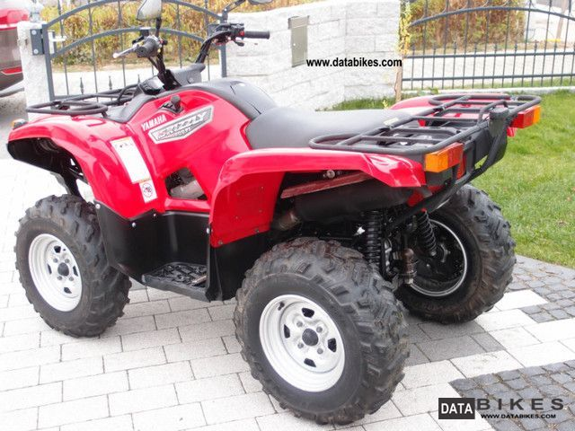 2007 yamaha grizzly 700 fi eps almost new top price fimaxx
