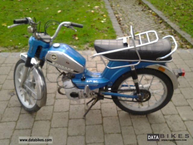 1970 Zundapp  Zündapp ZD 30 Motorcycle Motor-assisted Bicycle/Small Moped photo