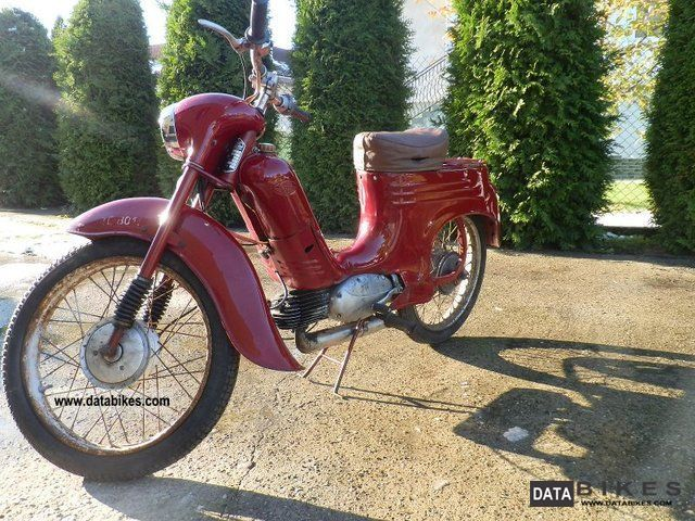 Jawa  _________555 Original ________ 1960 Vintage, Classic and Old Bikes photo