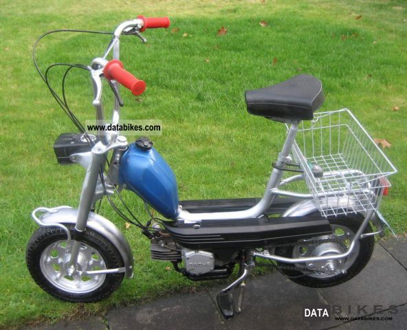 1975 Hercules  C3 City Bike Motorcycle Motor-assisted Bicycle/Small Moped photo