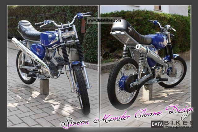 2012 Simson  S 51 Motorcycle Motor-assisted Bicycle/Small Moped photo