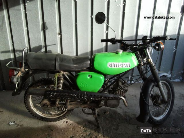 2005 Simson  S 50 Motorcycle Motor-assisted Bicycle/Small Moped photo