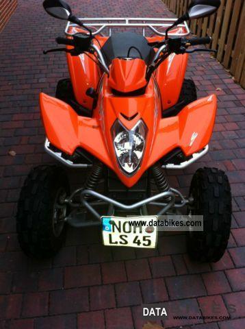 2010 Kymco  300cm Motorcycle Quad photo