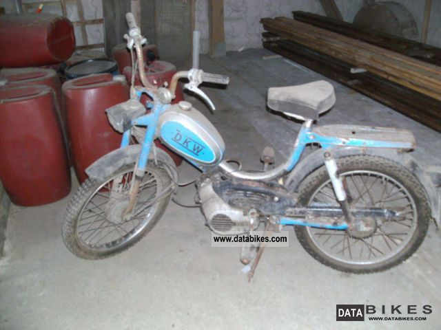 1972 DKW  629 moped Motorcycle Motor-assisted Bicycle/Small Moped photo