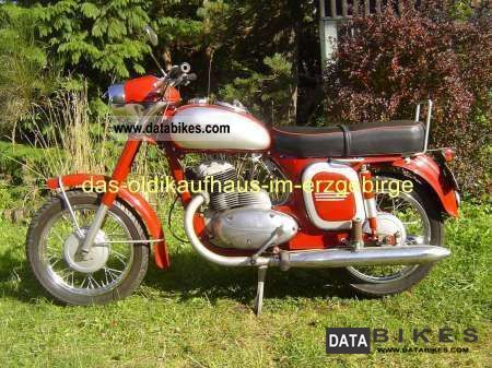 Jawa  250 1957 Vintage, Classic and Old Bikes photo