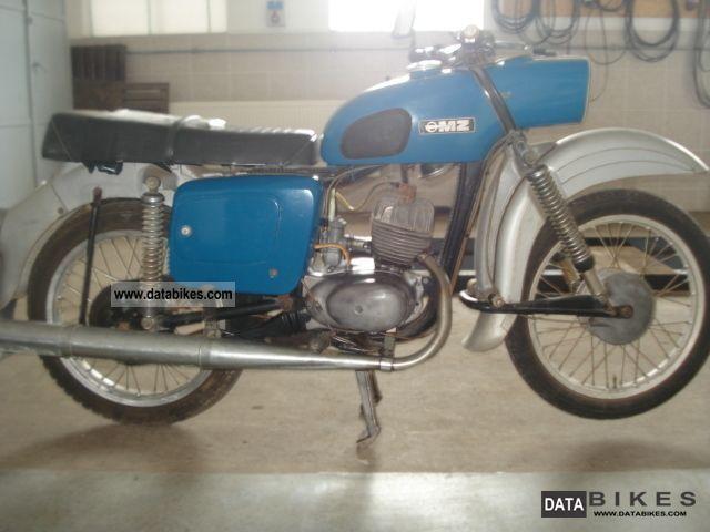 1973 Mz  it 125/1 Motorcycle Motorcycle photo