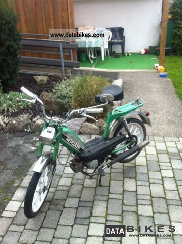 1978 Hercules  Optima 3 Motorcycle Motor-assisted Bicycle/Small Moped photo