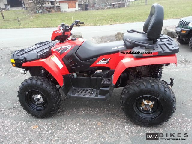 2009 polaris sportsman 500 touring with lof. Black Bedroom Furniture Sets. Home Design Ideas