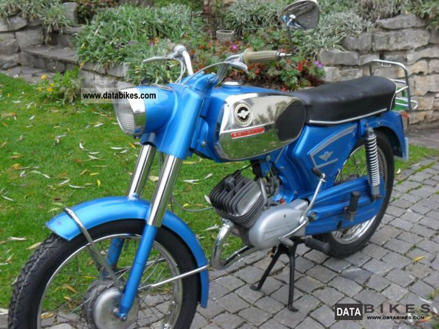 1972 Zundapp  Zündapp C 50 Sport Motorcycle Motor-assisted Bicycle/Small Moped photo