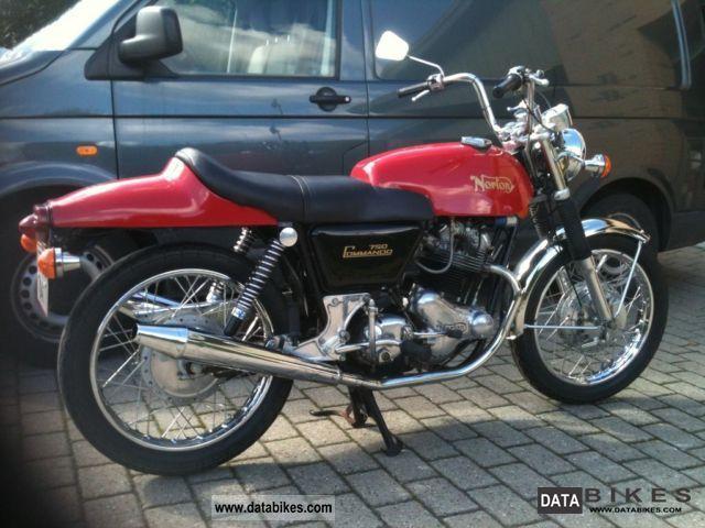 1971 Norton  Fastback Motorcycle Motorcycle photo