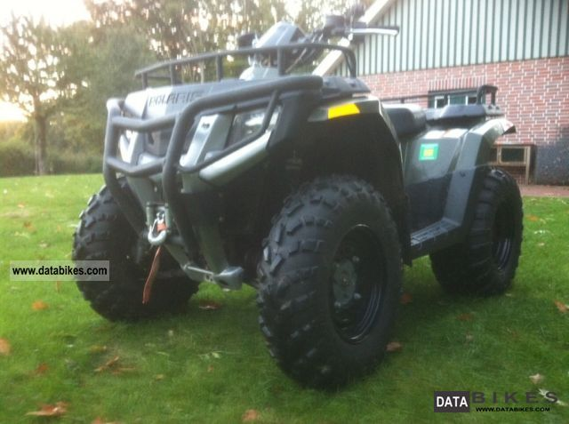 2008 Polaris  Forest 400 with winch Motorcycle Quad photo