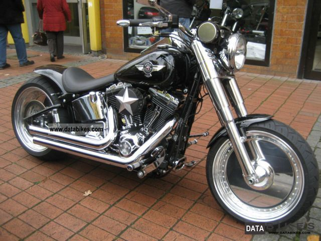 2011 Harley Davidson  Fat Boy Thunderbike complete remodeling 260 Motorcycle Chopper/Cruiser photo