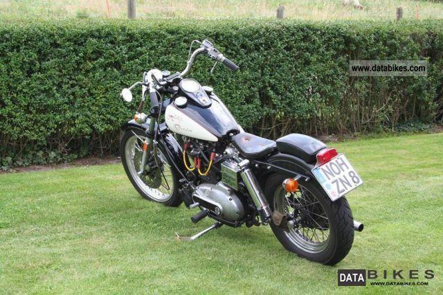 1974 Harley Davidson  sportser Motorcycle Chopper/Cruiser photo