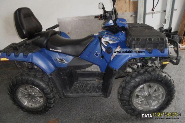 2010 Polaris  POLARIS 850 TOURING EPS Motorcycle Quad photo