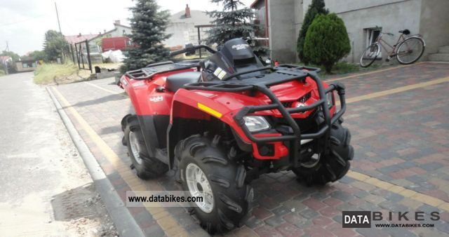 2010 Can Am  Outlander 800R Motorcycle Quad photo