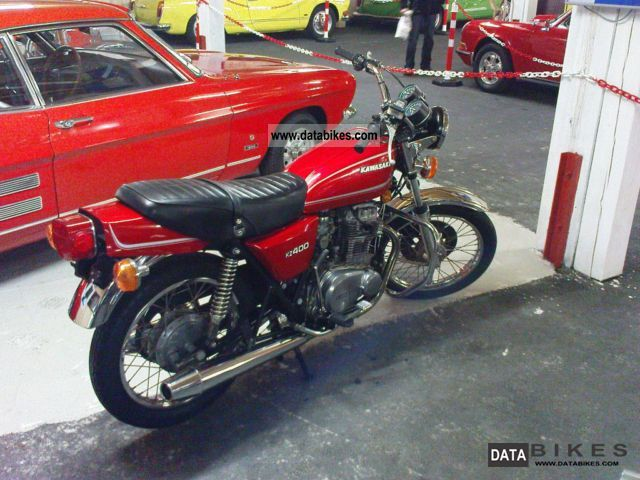 Kawasaki  Z 400 with only 4100km 1974 Vintage, Classic and Old Bikes photo
