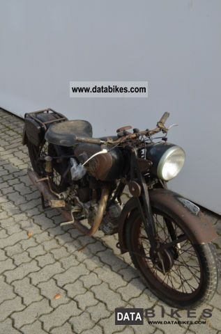 NSU  OSL 251 1949 Vintage, Classic and Old Bikes photo
