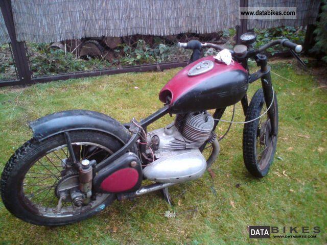 1950 Jawa  350/18 Pérák Motorcycle Motorcycle photo