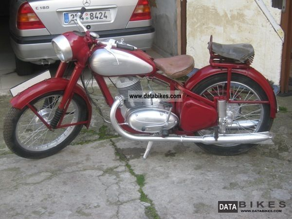 Jawa  250 1949 Vintage, Classic and Old Bikes photo