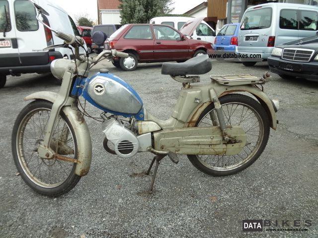 Zundapp  Zündapp climbers M50 1968 Vintage, Classic and Old Bikes photo