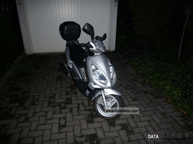 2004 SYM  Euro Jet 50 Motorcycle Scooter photo