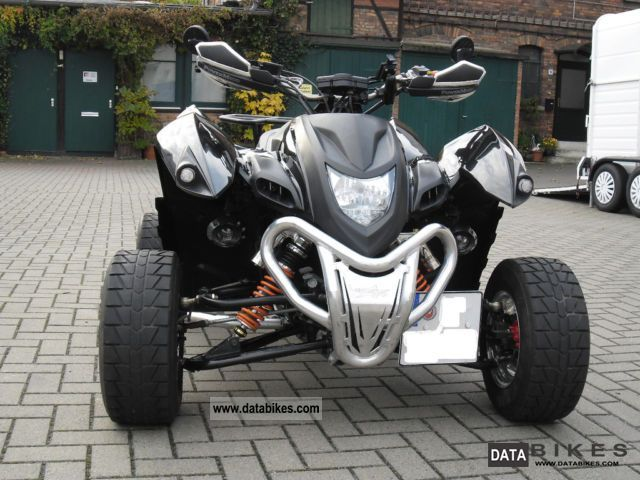 2009 Adly  500 Motorcycle Quad photo