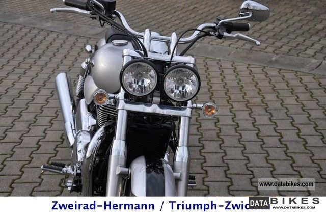 2012 Triumph  Thunderbird twin headlights Motorcycle Chopper/Cruiser photo
