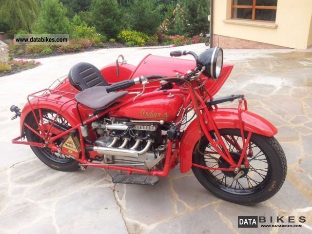 Indian  Four 1930 Vintage, Classic and Old Bikes photo