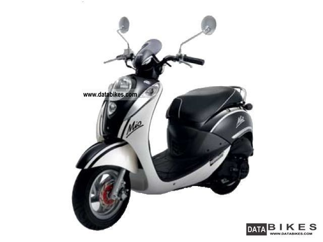 SYM  M 50 4-stroke 2012 Scooter photo