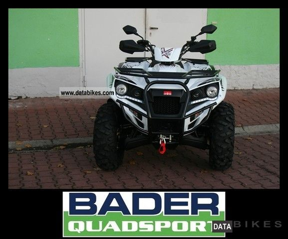 2012 Adly  X 6.5 ** 2012 ** NEW MODEL WITH LED LIGHTS STAND Motorcycle Quad photo