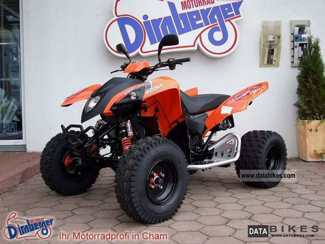 2012 Adly  Hurricane 280 + 280 + 300 + 320 Motorcycle Quad photo
