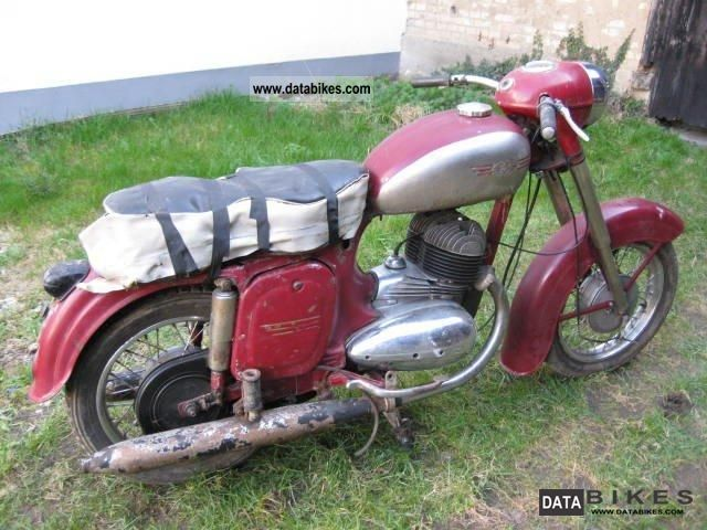 Jawa  350 1962 Vintage, Classic and Old Bikes photo