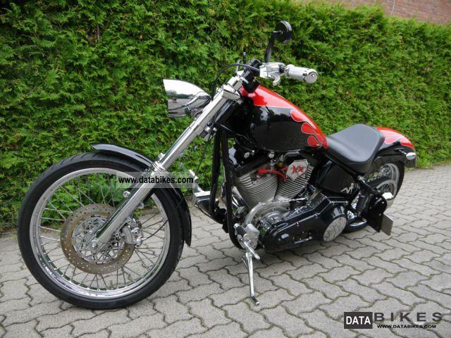 1999 Harley Davidson  Titanium Motorcycle Chopper/Cruiser photo