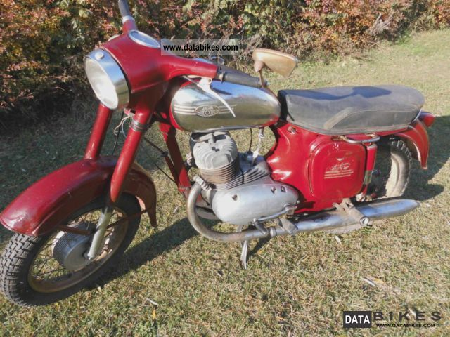 Jawa  360 1968 Vintage, Classic and Old Bikes photo