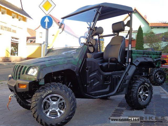 2012 Cfmoto Utv  Grumbler  Rancher 600  U00e4hnl Ranger