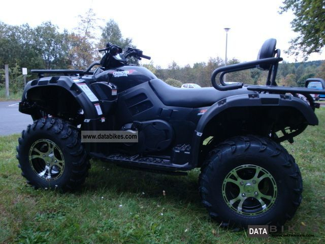 2012 CFMOTO  CF 500-2A Everest 4x4 long Motorcycle Quad photo