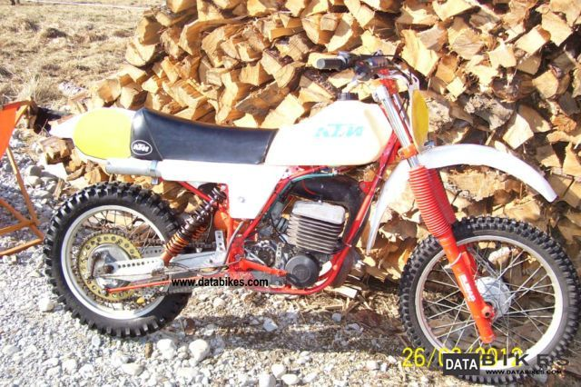 1981 KTM  Mc 250 Motorcycle Rally/Cross photo