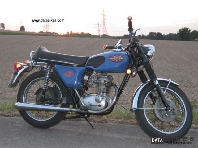 1969 BSA  B 25 Starfire Motorcycle Motorcycle photo
