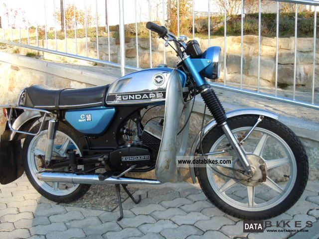 Zundapp  Zündapp C 50 Sport 1979 Vintage, Classic and Old Bikes photo