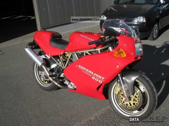 1995 Ducati  Superlight 900 Desmodue Ltd:. # 367 Motorcycle Motorcycle photo