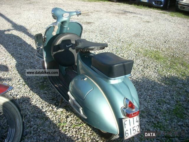 Vespa  GS 150 150 vbb 1960 Vintage, Classic and Old Bikes photo