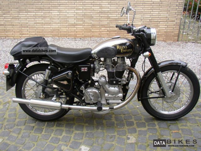 2009 Royal Enfield  Bullet 500 Deluxe Motorcycle Motorcycle photo