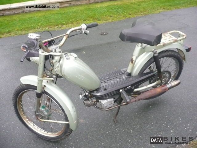 1980 Herkules  M 4/Prima 4 Motorcycle Motor-assisted Bicycle/Small Moped photo