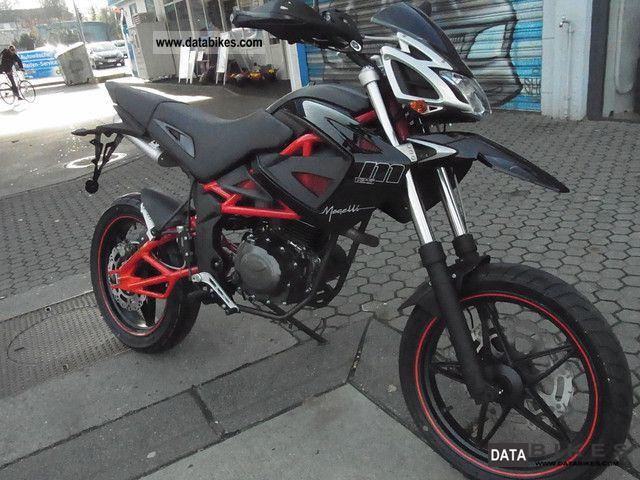 2012 Herkules  Megelli Supermoto SM125 Motorcycle Super Moto photo