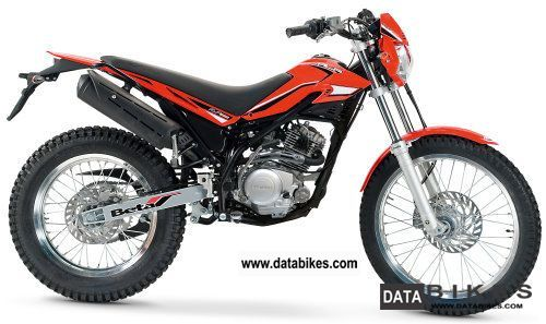 2012 Beta  Alp 125 `13: pearl white, red fluorescence Motorcycle Enduro/Touring Enduro photo