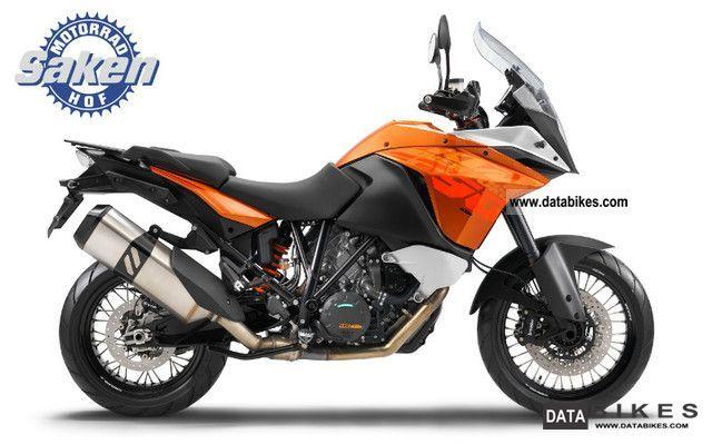 2012 KTM  1190 Adventure Motorcycle Tourer photo
