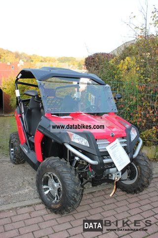 2012 Explorer  Bazooka 625 4x4 red Motorcycle Quad photo